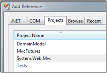 MVC-add-project-reference